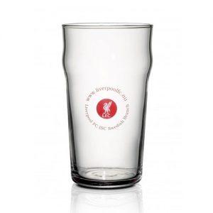 Ølglass med logo